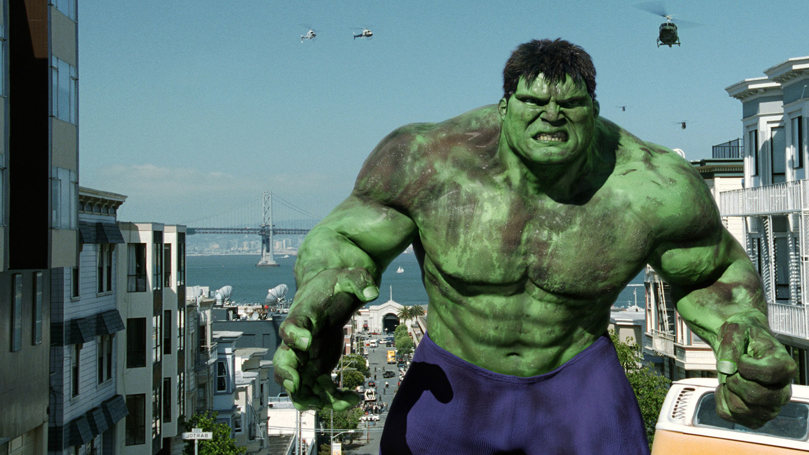 Something's Gotta Give: Ang Lee's The Hulk